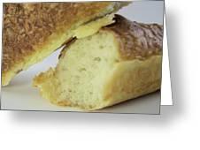 Break Bread Greeting Card