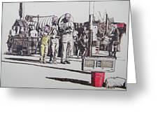 Breakdance San Francisco Greeting Card