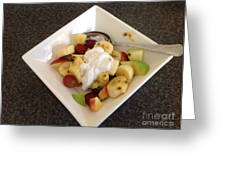 Fruit Salad For Breakfast  Greeting Card