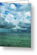 Breaking Clouds In Key West, Florida Greeting Card