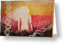 Breaking The Chains Greeting Card
