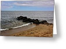 Breakwaters Greeting Card
