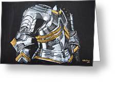 Breast Plate Greeting Card
