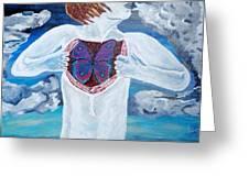 Breathe Deep Greeting Card by Lisa Brandel