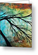 Breathless 2 By Madart Greeting Card