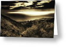 Breathless View Greeting Card