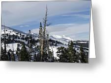 Breckenridge Resort In Summit County Colorado Greeting Card