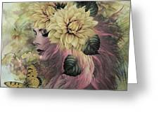 Breeze Blowing With Fragrance Greeting Card