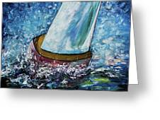 Breeze On Sails -2  Greeting Card