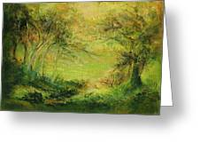 Breezy Afternoon Greeting Card