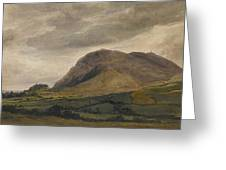 Breidden Hill In The Welsh Borders Greeting Card