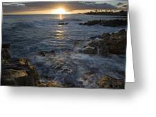 Brenneke Sunset Greeting Card