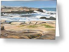 Bretagne 2 Greeting Card by Muriel Dolemieux