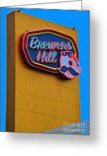 Brewers Hill Retro Greeting Card