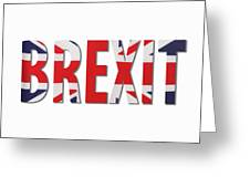 Brexit Greeting Card