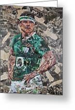 Brian O'driscoll Collage Greeting Card