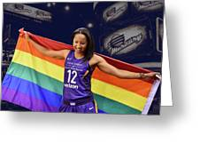 Briann January Lgbt Pride 2 Greeting Card