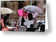 Bribane In The Rain #2 Greeting Card