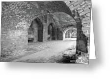 Brick Architecture  Greeting Card