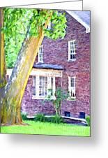 Brick House Three Greeting Card
