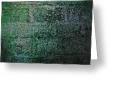 Brick Pillow V Greeting Card