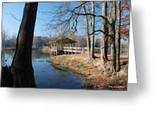 Brick Pond Park Greeting Card