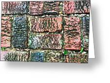 Brickwork#1 Greeting Card