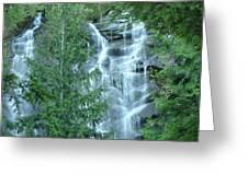 Bridal Vail Falls Greeting Card