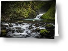 Bridal Veil Creek Greeting Card