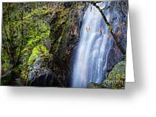 Bridal Veil  Falls 3 Greeting Card