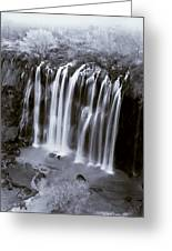 Bridal Veil Falls - Havasu Canyon Arizona C. 1900 Greeting Card