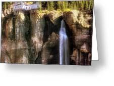 Bridal Veil Falls Power Plant - Telluride - Colorado Greeting Card