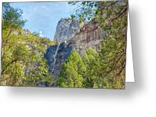 Bridalveil Fall Greeting Card