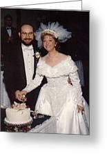Bride And Groom Greeting Card