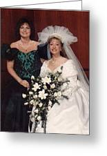 Bride And Honor Greeting Card