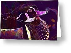 Bride Duck Male Duck Bird  Greeting Card