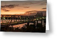 Bridge 8 Greeting Card