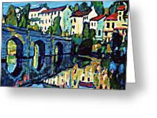 Bridge Across Greeting Card