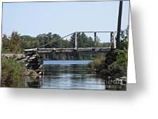 Bridge At Chub Greeting Card
