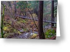 Bridge At Deer Creek Greeting Card