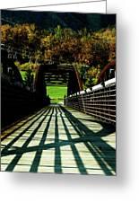 Bridge At Killington Greeting Card