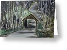 Covered Bridge Sleeping Bear Dunes  Greeting Card