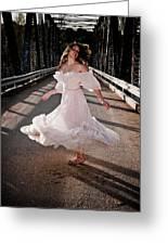 Bridge Dancer Greeting Card