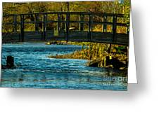 Bridge For Lovers Greeting Card
