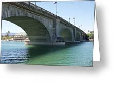 Bridge From London Greeting Card