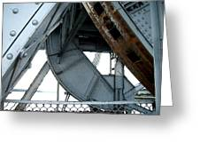 Bridge Gears Greeting Card