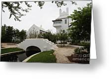 Bridge In Alys Beach Greeting Card