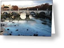 Bridge In Rome Greeting Card