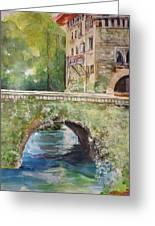 Bridge In Spain Greeting Card