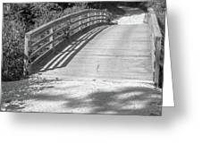 Bridge In The Path II Greeting Card
